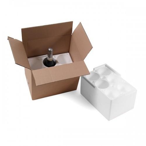Scatola di cartone micro triplo 35x22x20 bianca